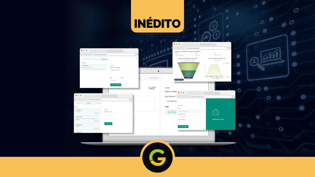 INÉDITO: G Digital Lança Novos Recursos de CRM Integrado 100% ao Whatsapp. Conheça!